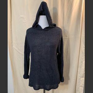 Vintage GAP Open Knit Dark Navy Hoodie